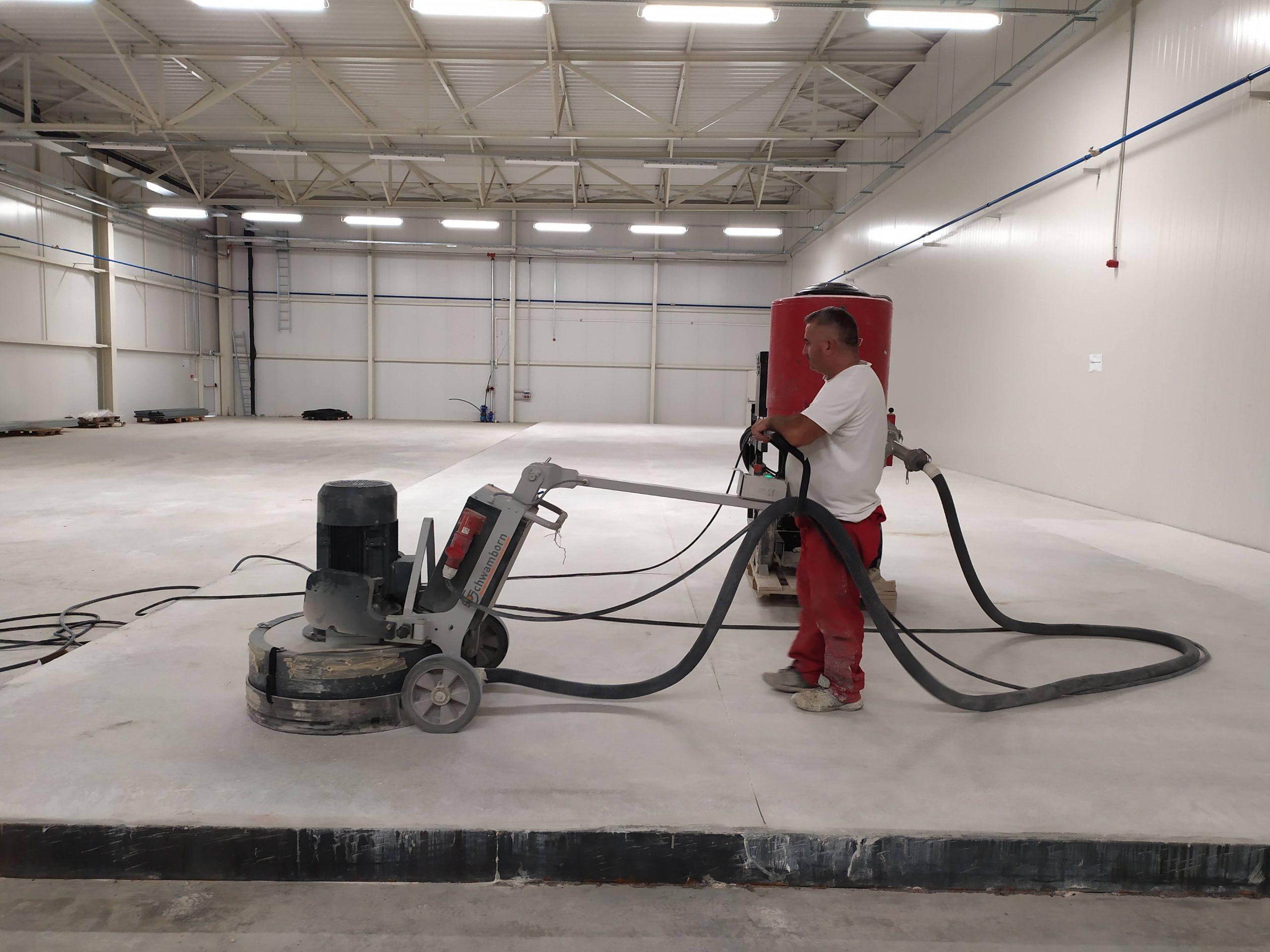 Полирање бетон